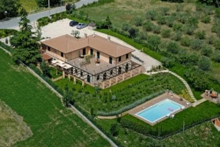 Villa , Country House nel verde,