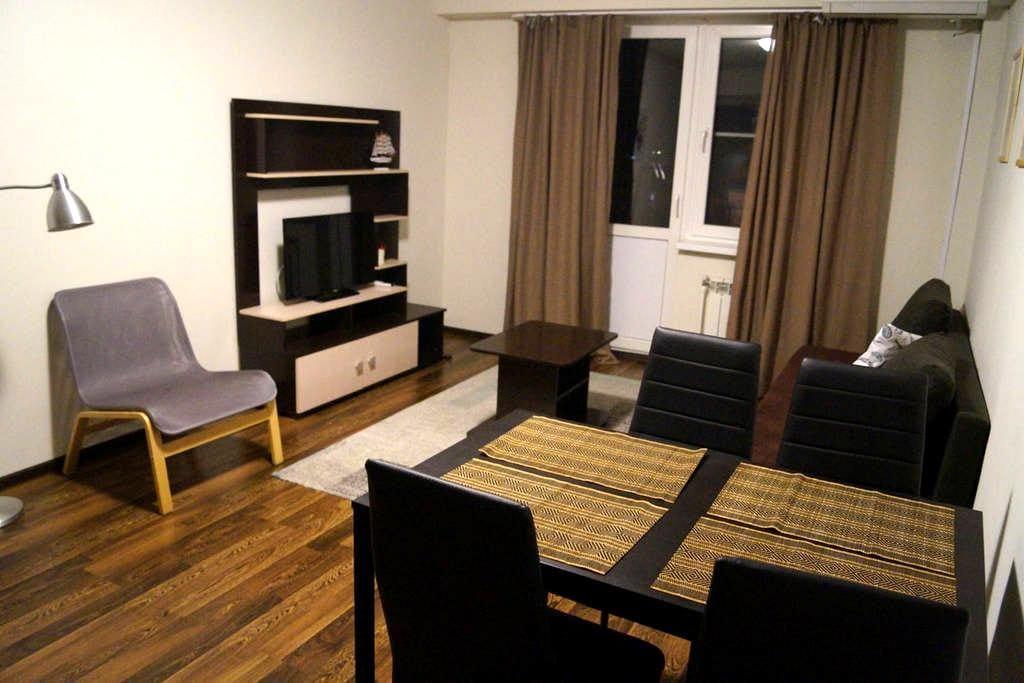 2-комнатная комфортабельная квартира в Адлере - Сочи