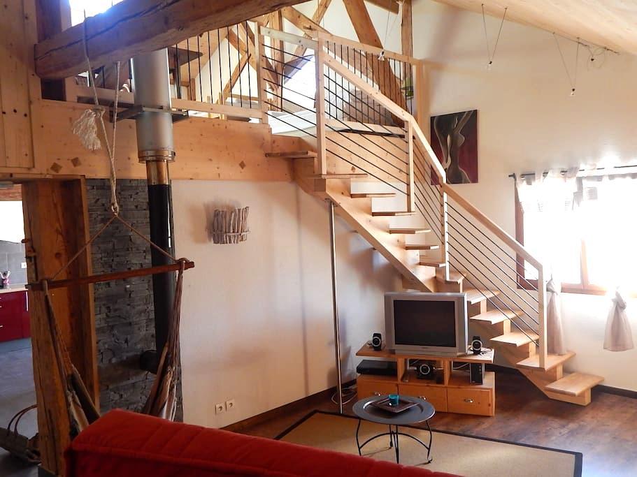Gîte dans ancienne ferme comtoise - LE RUSSEY - Apartament