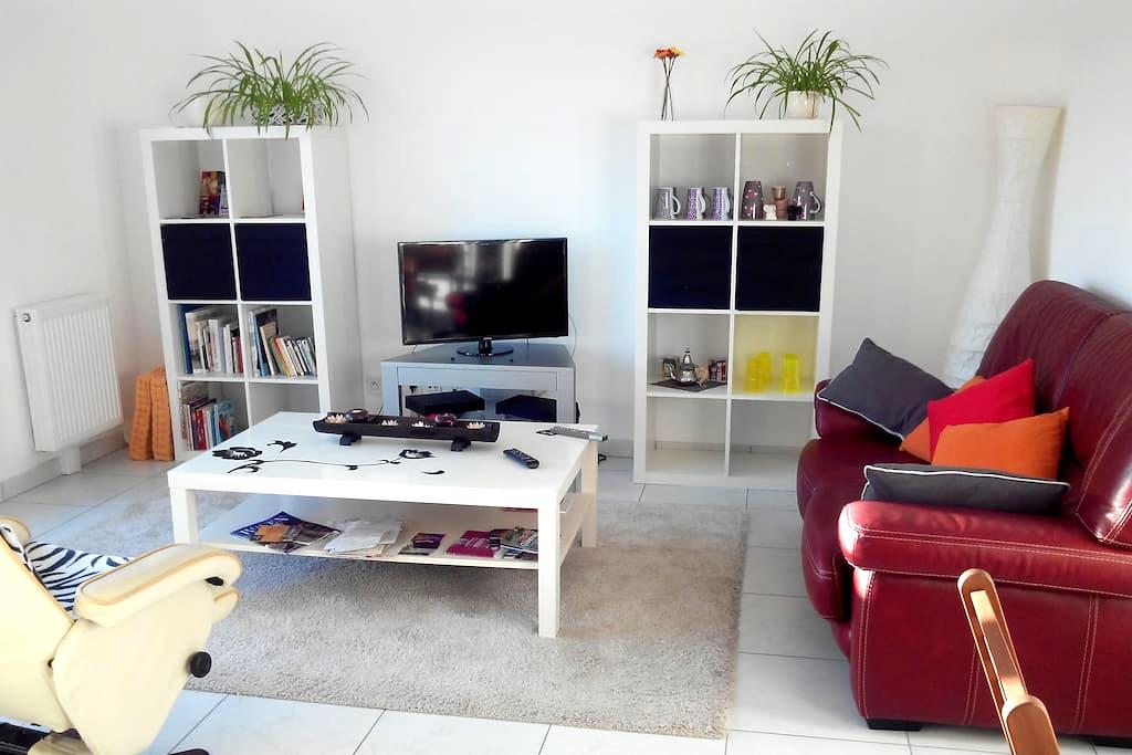 Rouen 2 bedrooms 1 min from station - Rouen - Flat
