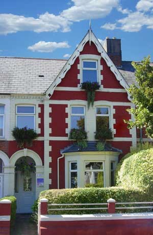 Ty Rosa, sumptious rooms and a 5 star breakfast menu and Welsh evening dinner