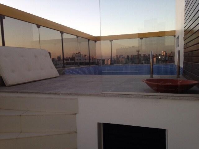 Cobertura Duplex piscina privativa