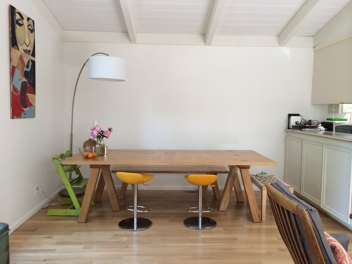 Modern, family-friendly retreat