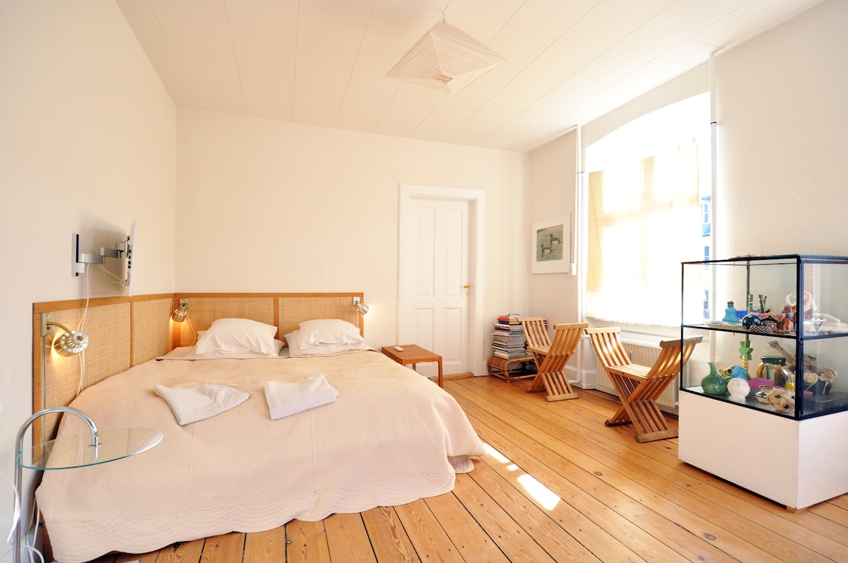 1668 ft2 artist flat on Vesterbro