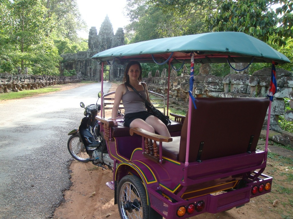 Solo Journey at Victory Gate - Angkor Thom