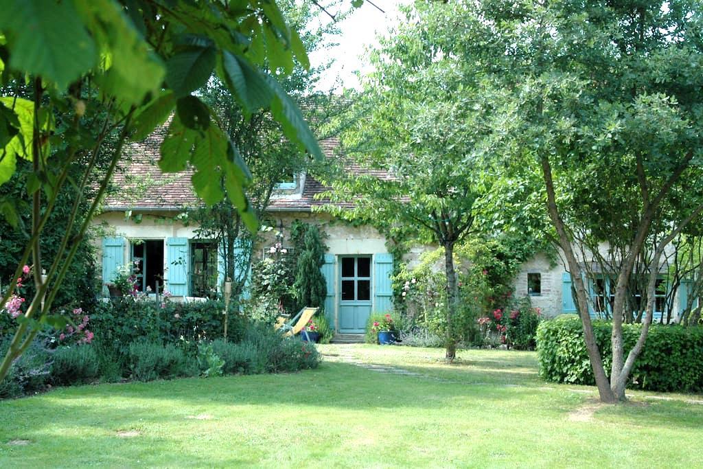 Maison bord de rivière avec ponton - Néons-sur-Creuse - Дом