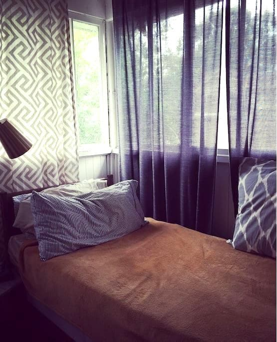 Cozy 1bd with balcony in Cheesman - Denver - Departamento