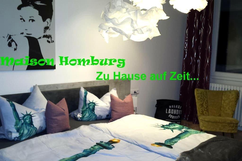 Ferienwohnung Maison Homburg - Homburg - Appartement