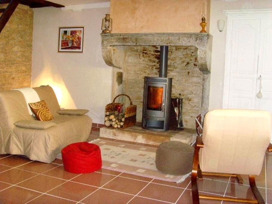 House in Burgundy, on wine road - Santenay