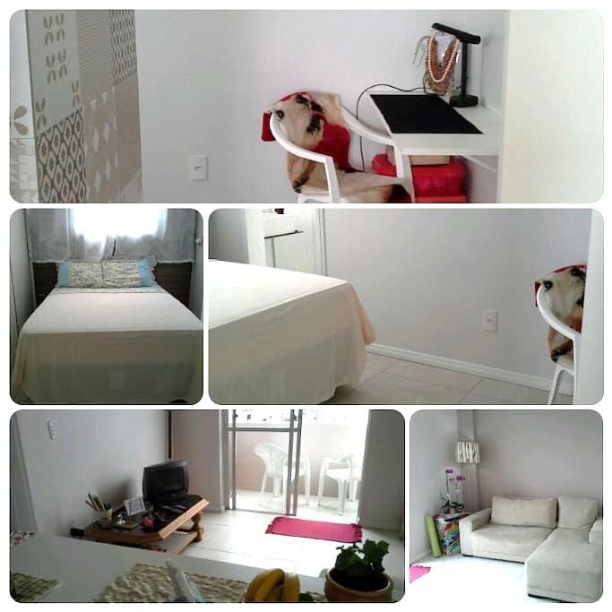 Um lugar de Paz!, - Florianópolis - Apartment