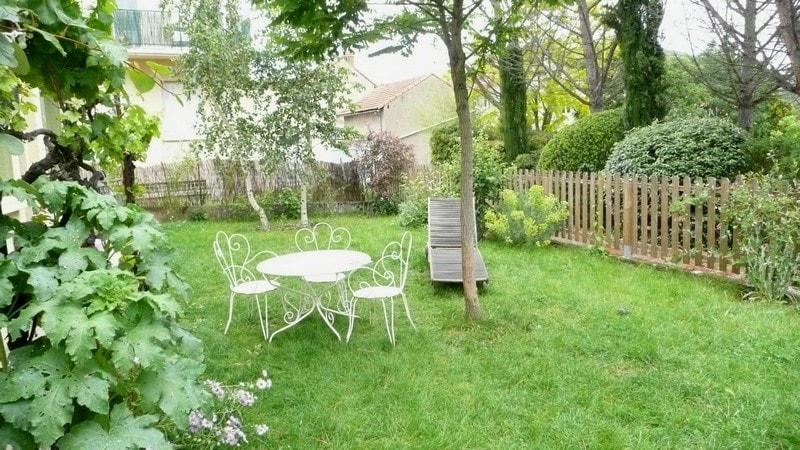 jardin calme sans vis à vis