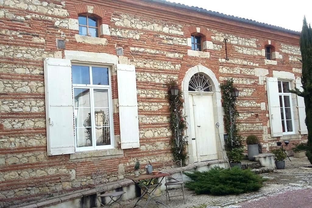 Chambres et demeure de charme - Boé - บ้าน