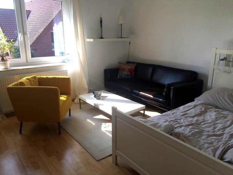 Zentrales Zimmer in grüner Umgebung - Gütersloh - Apartment