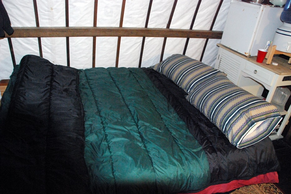 Queen Futon - folks rave about the comfort of this bed with it's foam pillow top.