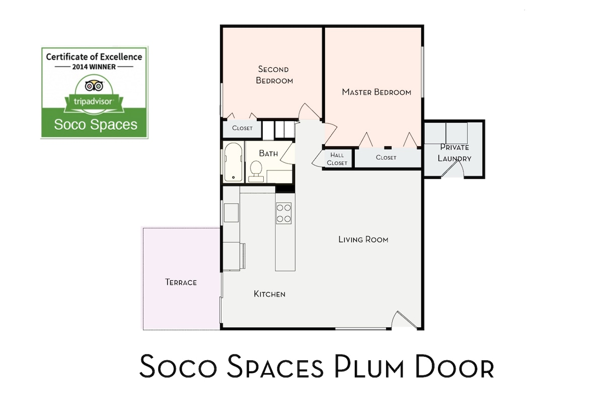 Soco Spaces Plum Door floor plan