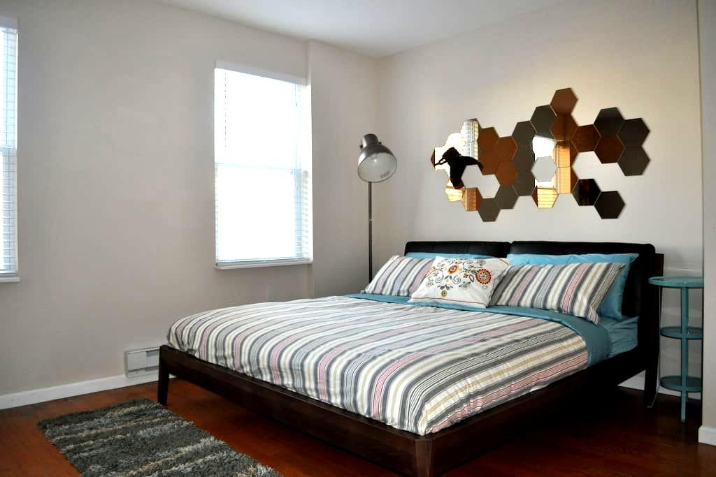 Renovated King Room Great Location - Philadelphia - Huis