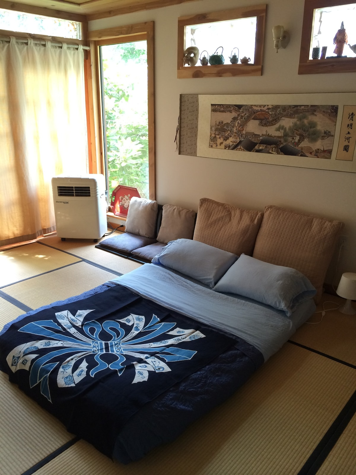 A Beautiful Tranquil Japanese Room