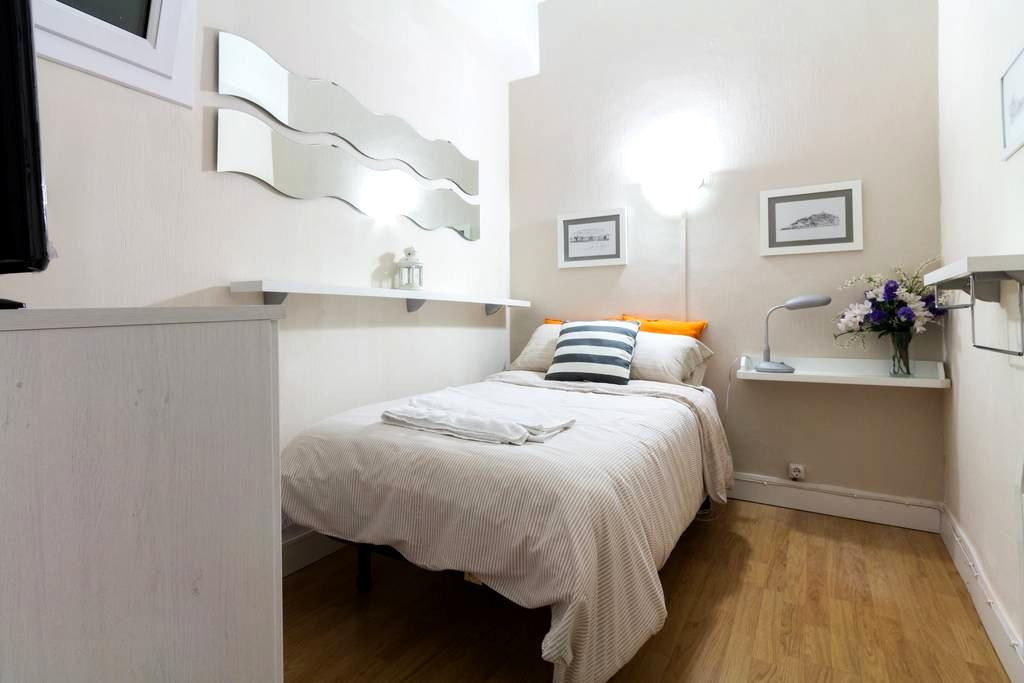 Single room in the Old Town WIFI - San Sebastian - Inap sarapan