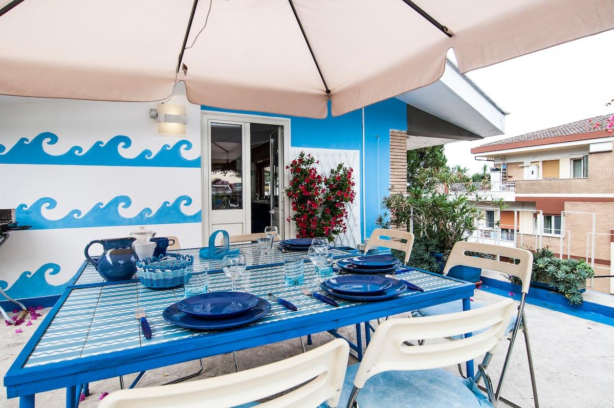 Dinner corner on the terrace