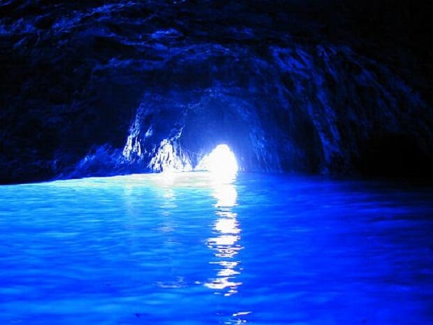 Grotta Azzurra (Blue grotto) in 1 hour you can reach it!!
