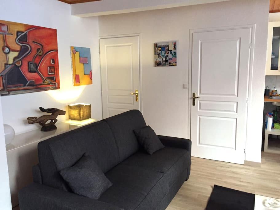 A 2 pas de Bellecour et au calme (parking gratuit) - Lyon