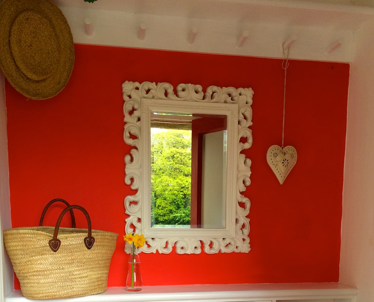 A bright welcoming entrance hall