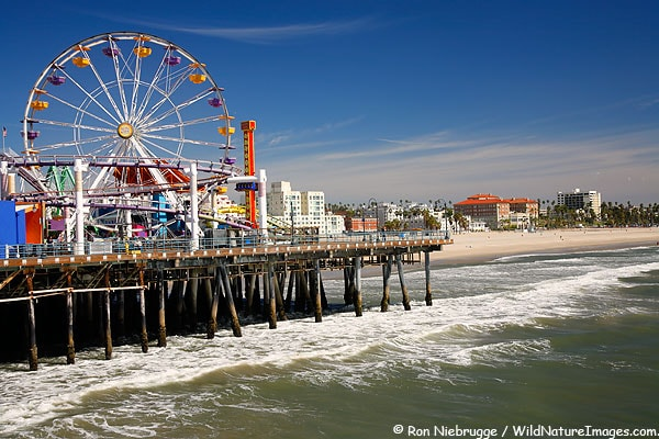 The World Famous Santa Monica Pier