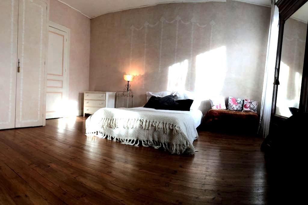 Jolie chambre  dans maison gersoise - Riscle - Şehir evi
