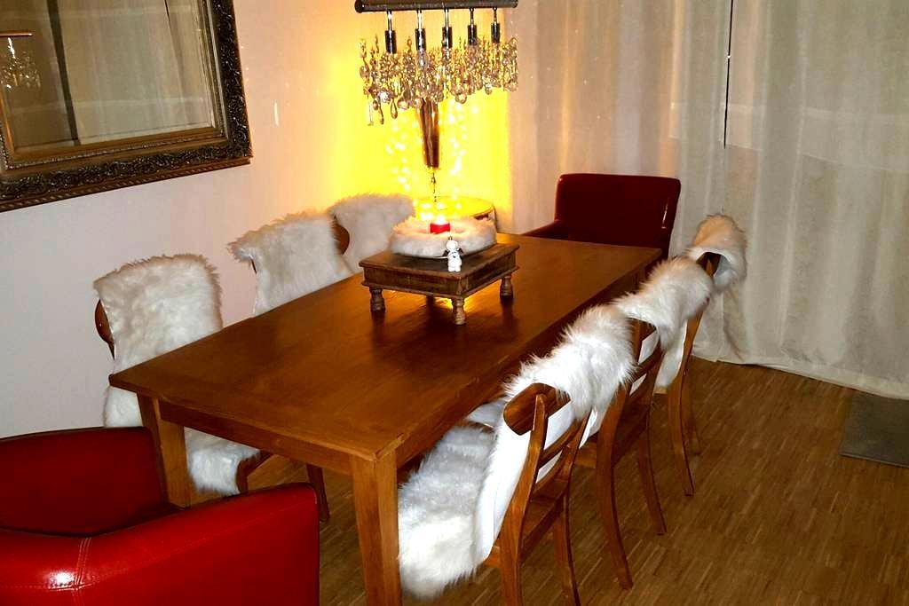 Gemütliche Wohnung mit Terrasse und Garten (STA) - Starnberg - Apartment