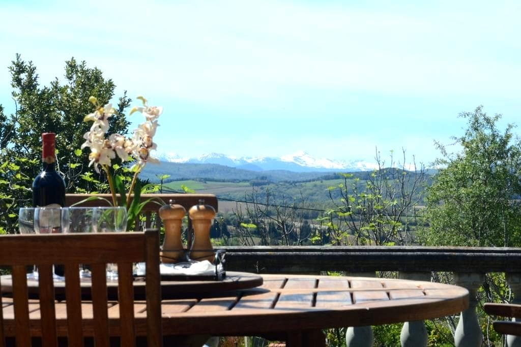Stunning views from quiet country house! - Pauligne - Villa