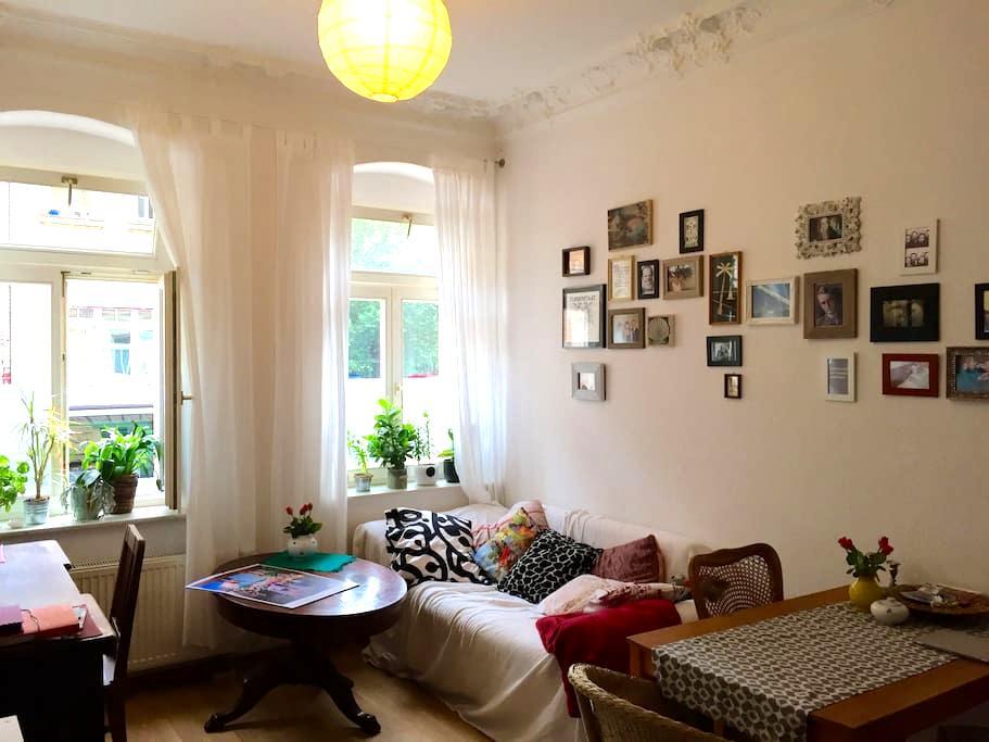 Gemütliche Wohnung mitten in der Neustadt - Dresde - Appartement