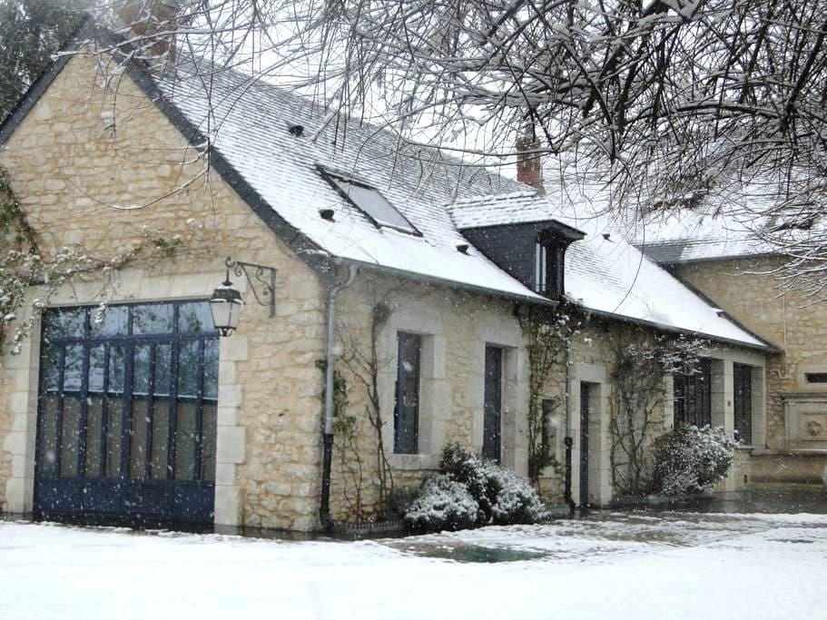 Maison de caractère en Berry - La Chapelle-Saint-Ursin - Domek gościnny
