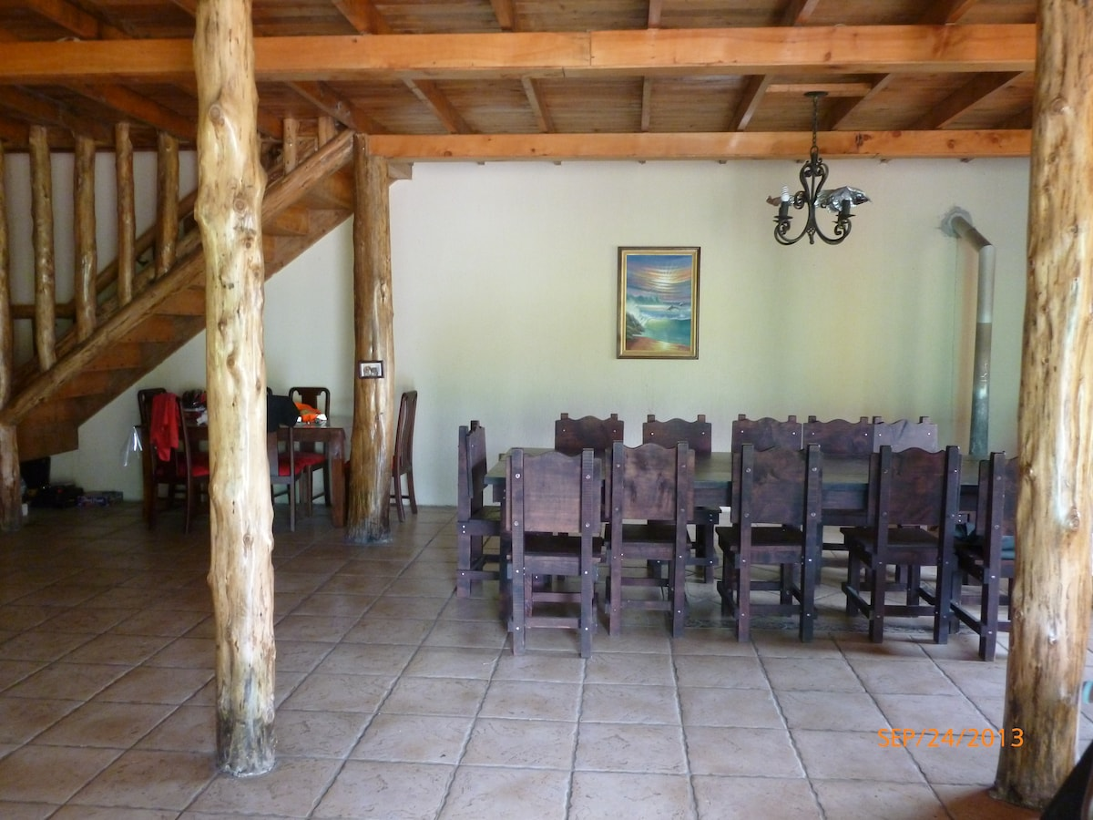 Dinning room table for 12 people.