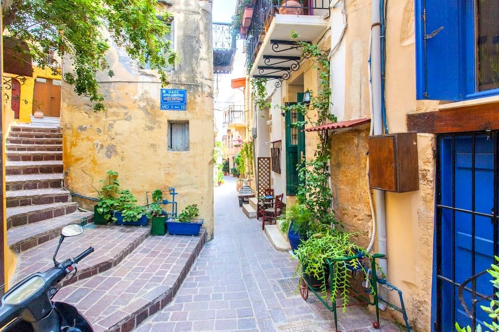 Cozy Apartment Nestled in Old Town Chania - Chania