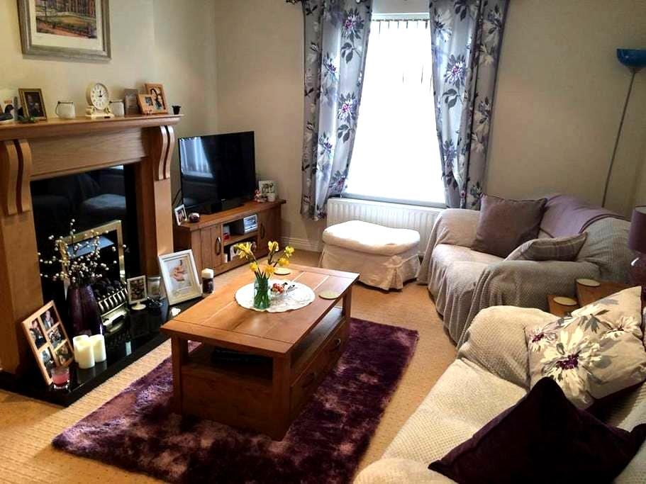 Dbl Rm w/brkfst, PARKING, mins to the city centre - Belfast - Appartement