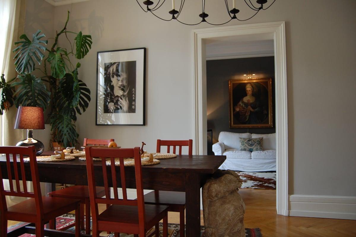 Luxury designers home in Frankfurt