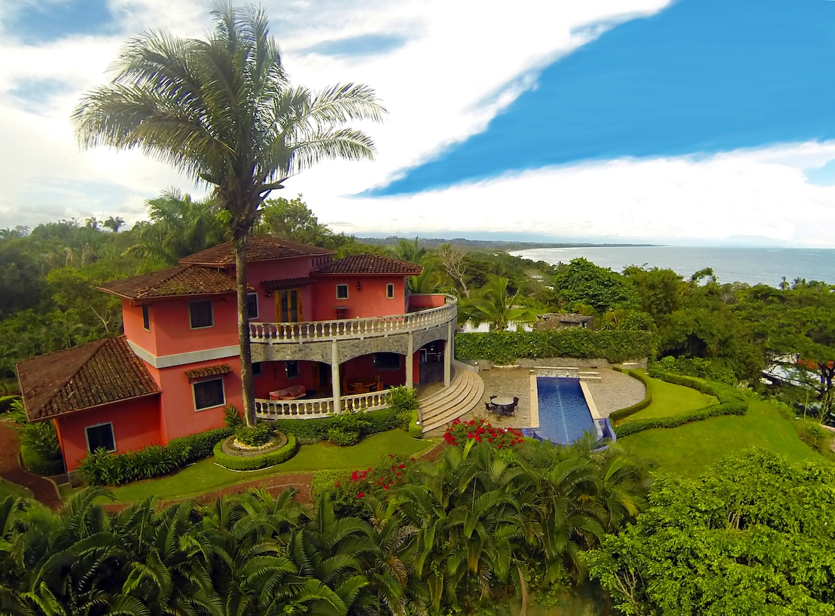 Private Oceanview home w/ lap pool
