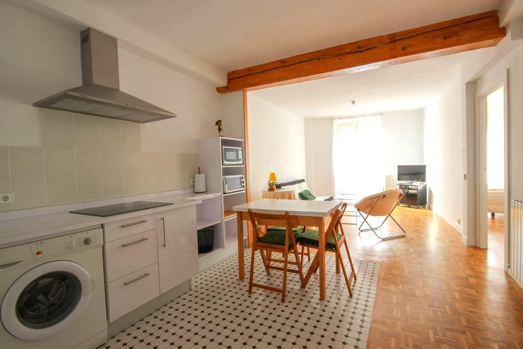 Renovated apart. Views to bull run - Pamplona - Huoneisto