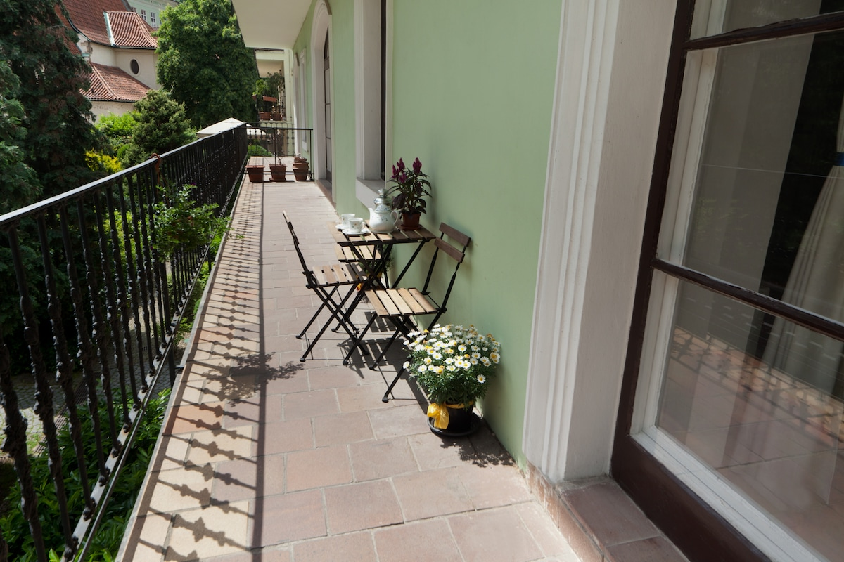 Your private terrace