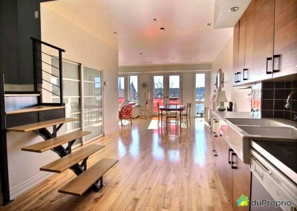 Superbe Penthouse with great natural light - Montréal - Appartement