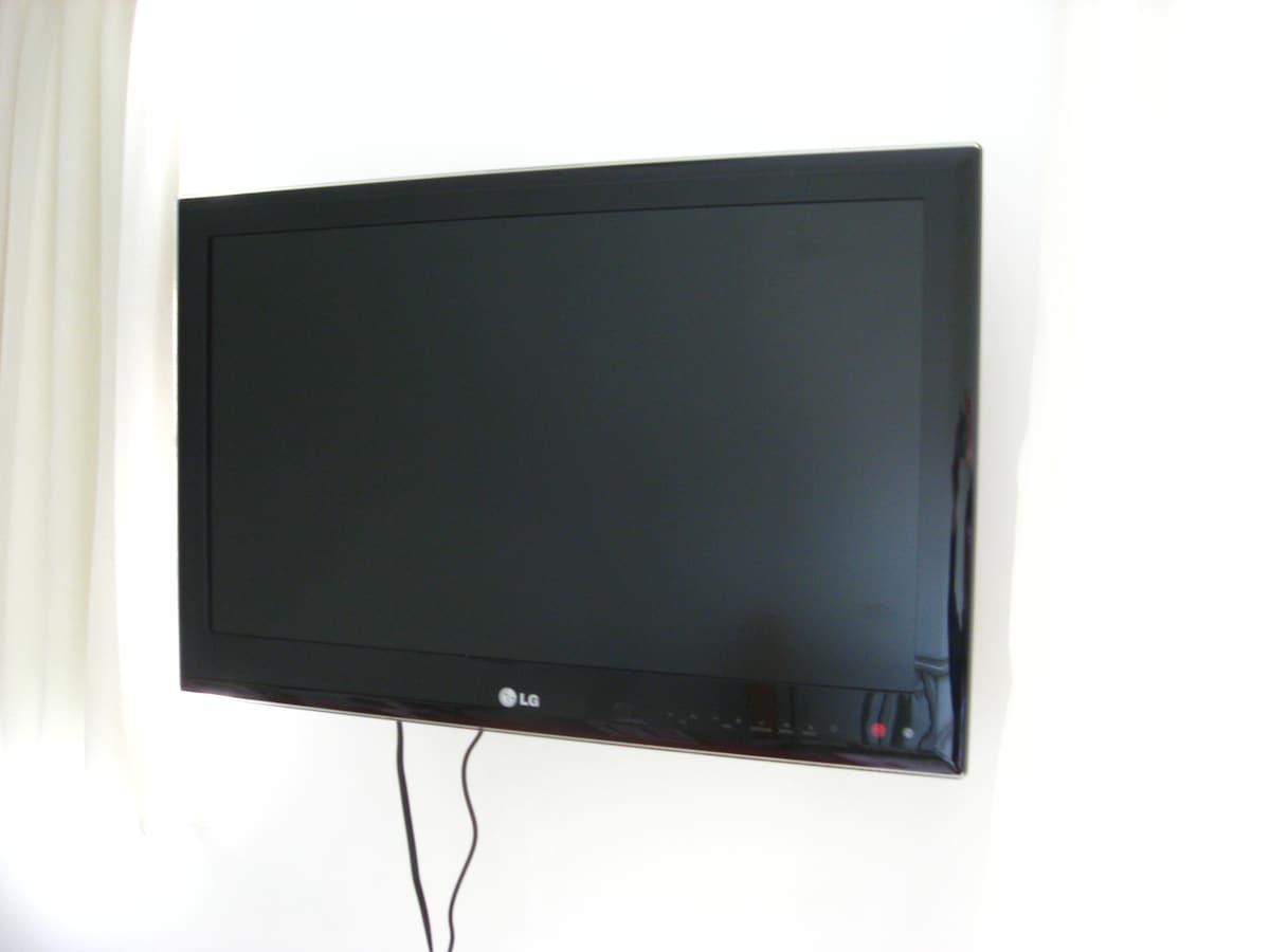 TV á cabo com todos os canais incluídos, inclusive Tele Cines/Cable TV (all channels)