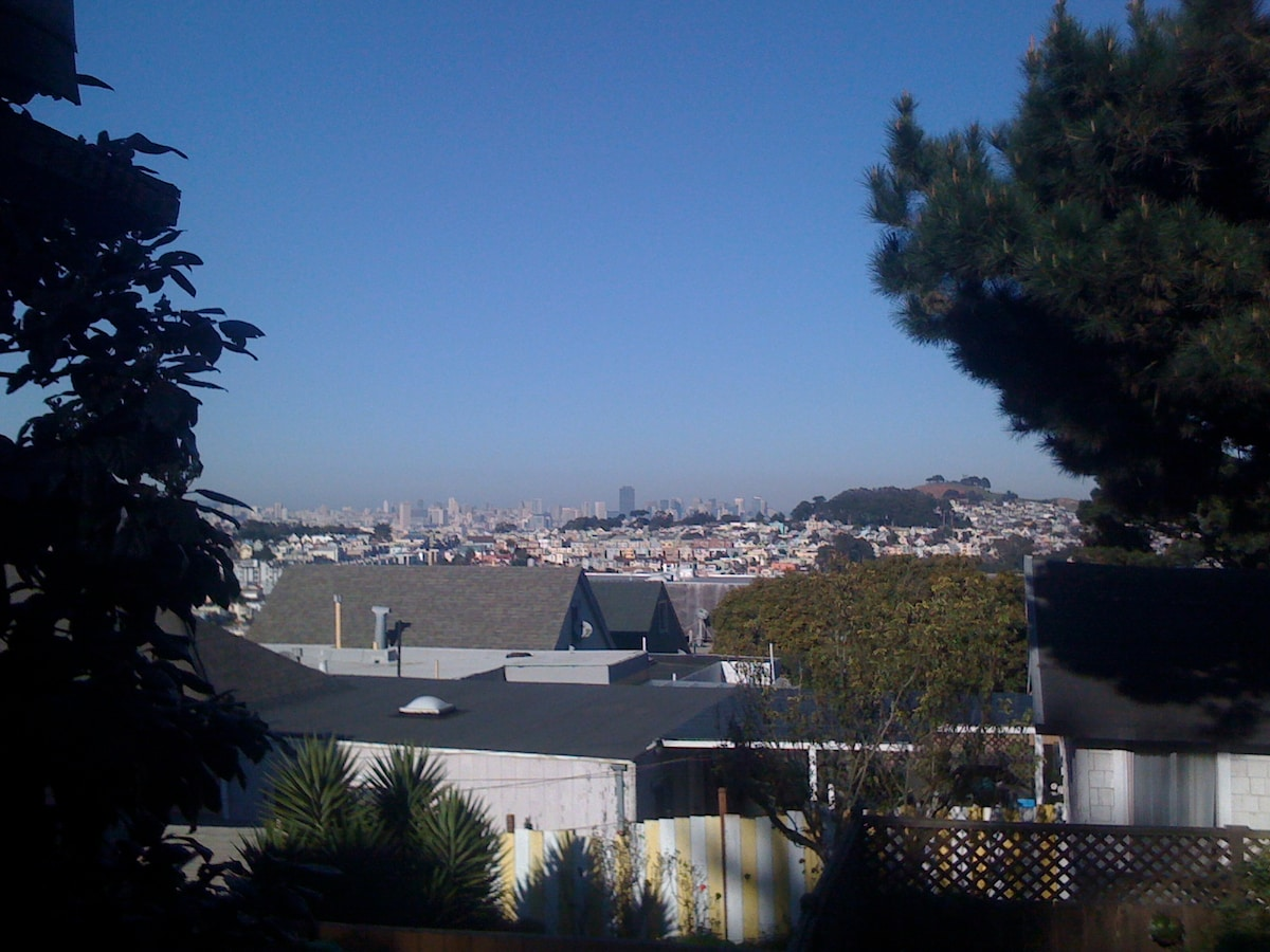 Beautiful home with view in SF