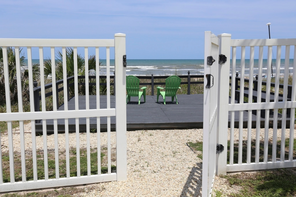 Privacy Fence Doesn't Obstruct Your View!