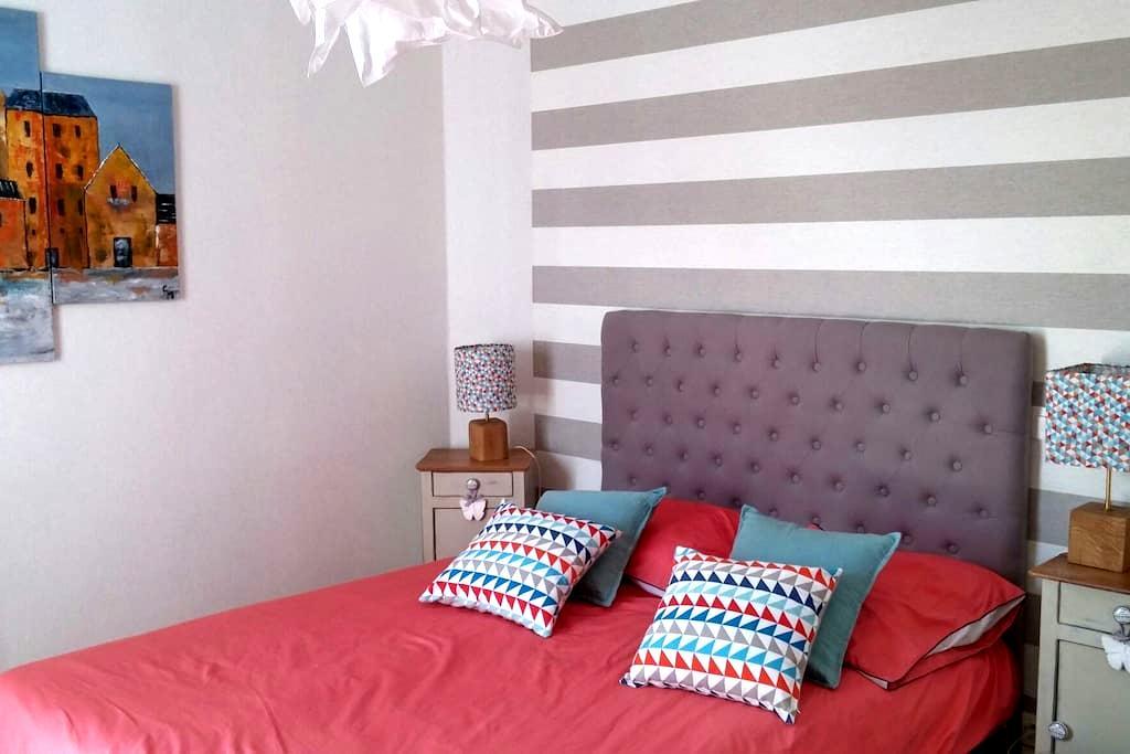 Chambre agréable avec vue jardin - Chavagne - Casa