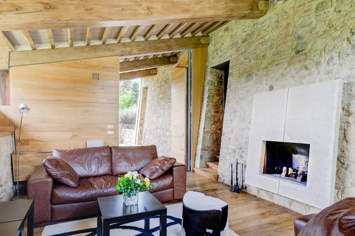 Villa di Geggiano-Guesthouse