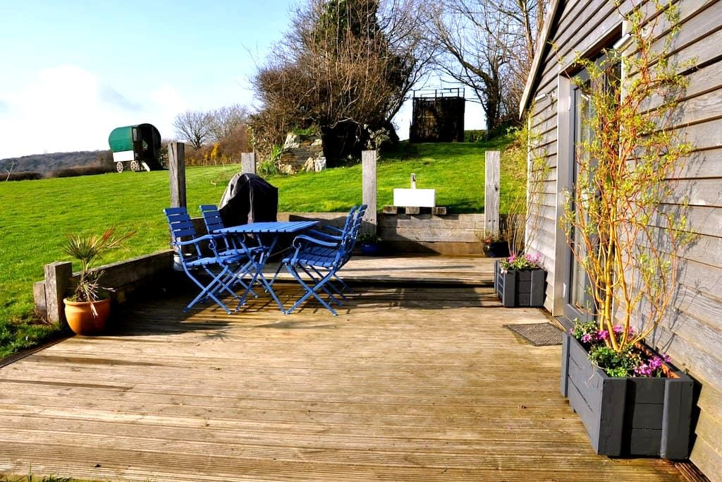 A luxury cabin with an amazing view - Bodmin - Cabana