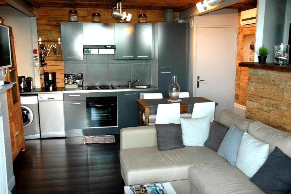 Cottage Le Show Room, piscine, tennis, plage - Villerville - House