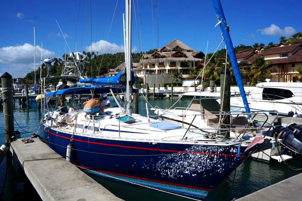 Sleep on a sailboat in Samaná (Puerto Bahia) - Samana