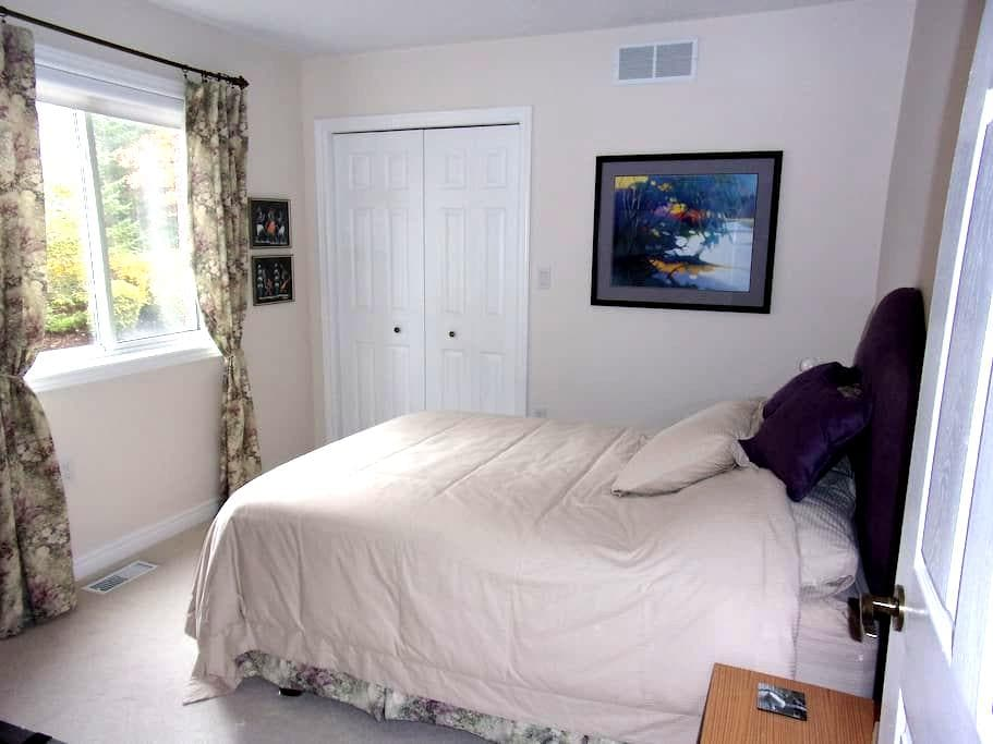 Bedroom with a private bath - Guelph