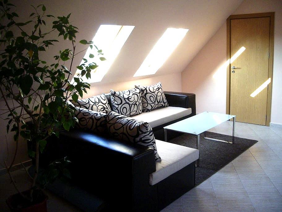 Modern studio with workspace, Sofia centre - Sofya - Daire